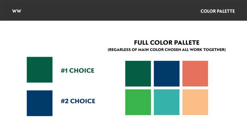 Color pallete examples